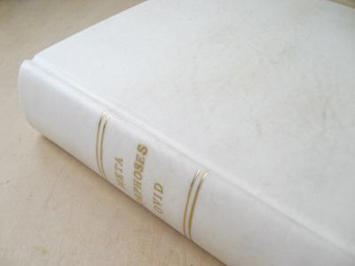 fri3_vellum_binding 総ヴェラム張りの現代的製本