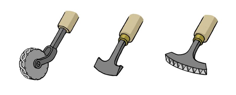sat1_tools ロール、ガウジ、パレット